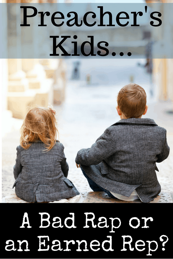 """You ever hear a story about a preacher's kid behaving badly? I've heard plenty. I've seen plenty. As the mother of four preacher's kids, I am doing my best to make sure there are no stories about my kids that will lead them to be called one of """"those PKs,"""" but I'm not sure my efforts will be enough. Sometimes PKs get the rap of being bratty without earning the rep themselves. This post explains why that is and how you can help to redeem the preacher's children that you love from being seen as one of """"those PKs."""""""
