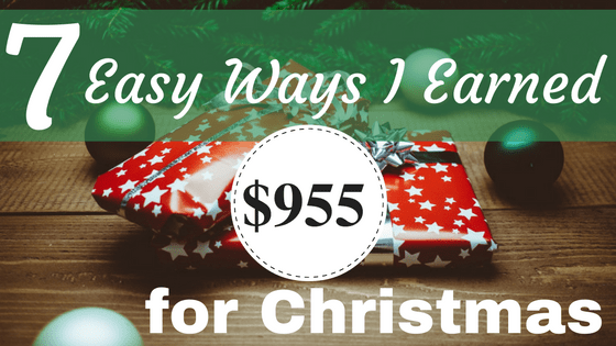 By spending an extra 5 minutes per week, I've been able to earn extra Christmas money from home. These seven things are seriously simple. Really.