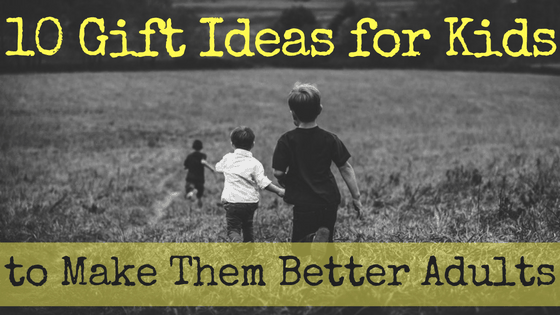Let's stop giving kids gifts that are easy, and start giving them gifts that teach them to share, cooperate, imagine, design, create, and dream together.