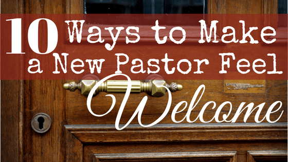 From time to time, churches call new pastors. For some churches, this is a regular interval of every couple of years. For some churches, this only happens every couple of decades. Regardless of the frequency, every church wants to make a new pastor feel welcome. Here are ten ways you can help to make your new pastor feel welcome.
