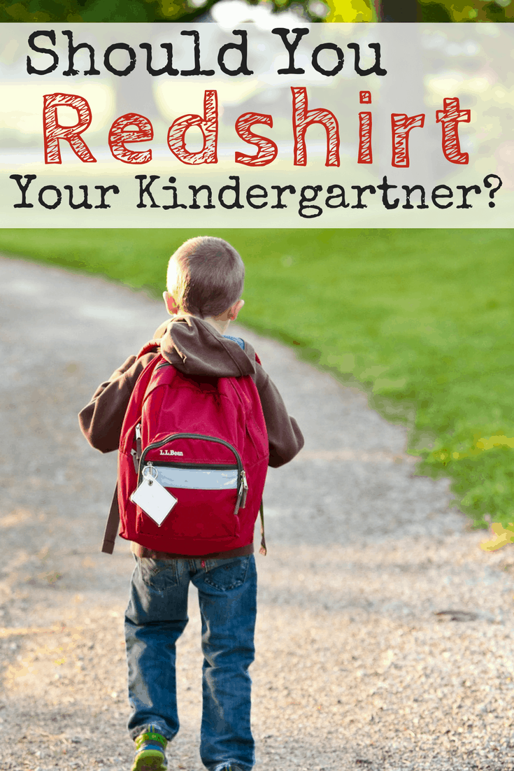 Are you worried that your child isn't quite ready to start kindergarten this year? Are you considering kindergarten redshirting? Because of all the conflicting information, how can you be sure you're making the best decision for them? Here's a list of three things you can do to make sure you're making the best decision for your whole family.
