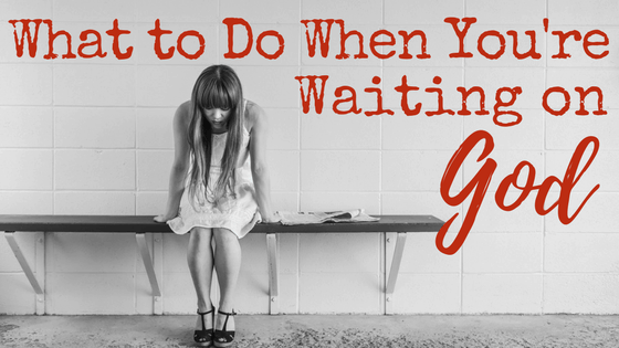 Waiting isn't fun, but sometimes it is necessary. Knowing this usually doesn't make it any easier though. So what are Christians supposed to do when God calls us to just wait? Here is one lesson the Bible teaches us about waiting on God. If we can get this right, maybe the waiting will be easier too.