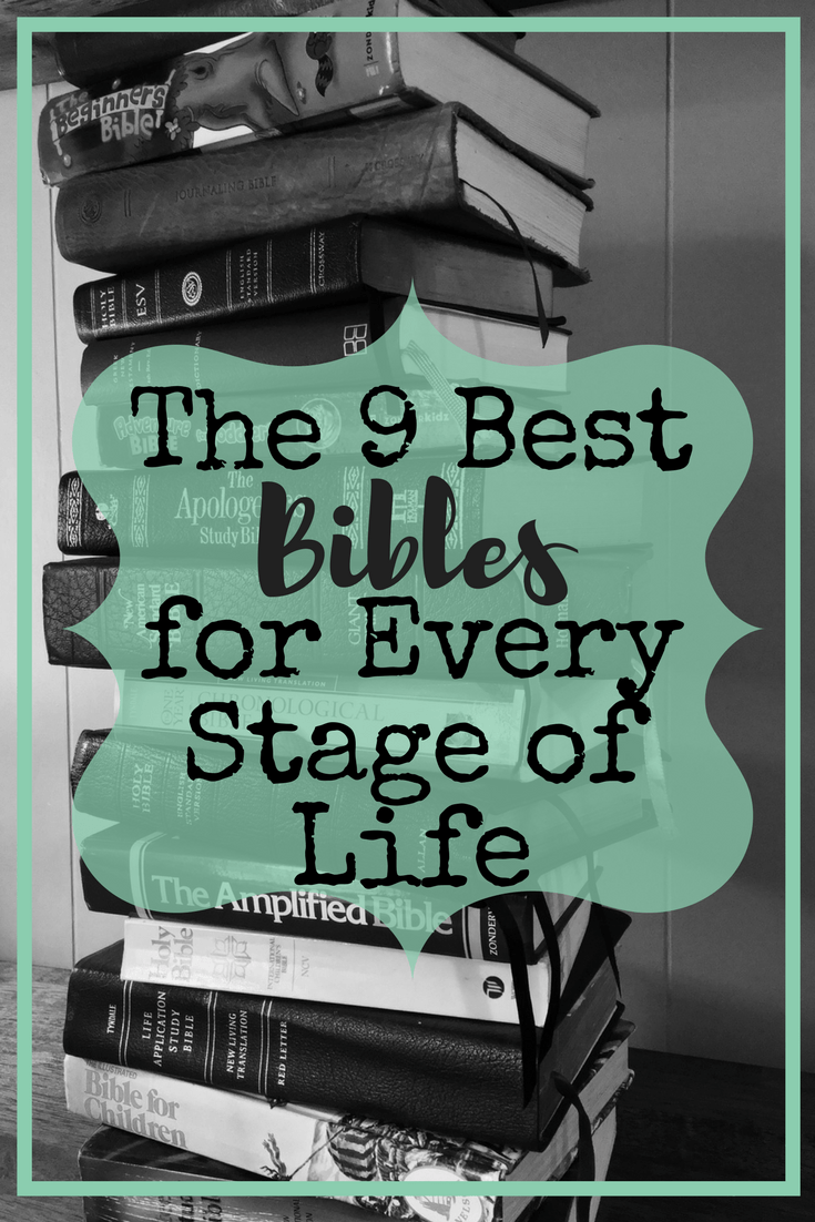 With so many Bibles on the market, buying one can be a hassle. To help, we have compiled a list of the best Bibles for every stage of life. #bestbible
