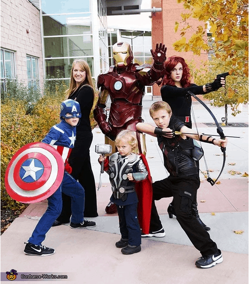 Do you love the idea of dressing your whole family up as an adorable themed group but struggle to find a group costume idea for your big crew? This post is the place for you! We have rounded up the best halloween costumes for big families.