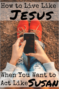 Trying to live like Jesus is hard. He was perfect, and we are far from it. But there is one way to determine if our actions are making us more like Him or less. #livelikeJesus #WWJD #realchristianity #readthebible