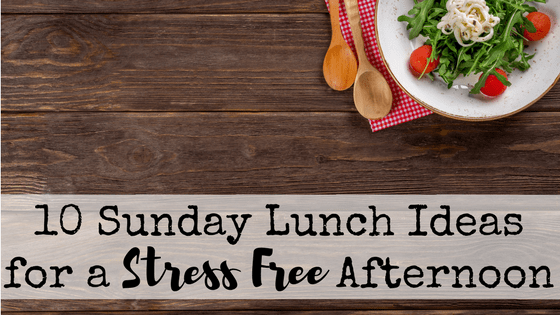 We're all tired after church on Sundays. These quick and frugal Sunday lunch ideas will help you to get a healthy meal on the table without wearing yourself out or getting take out.