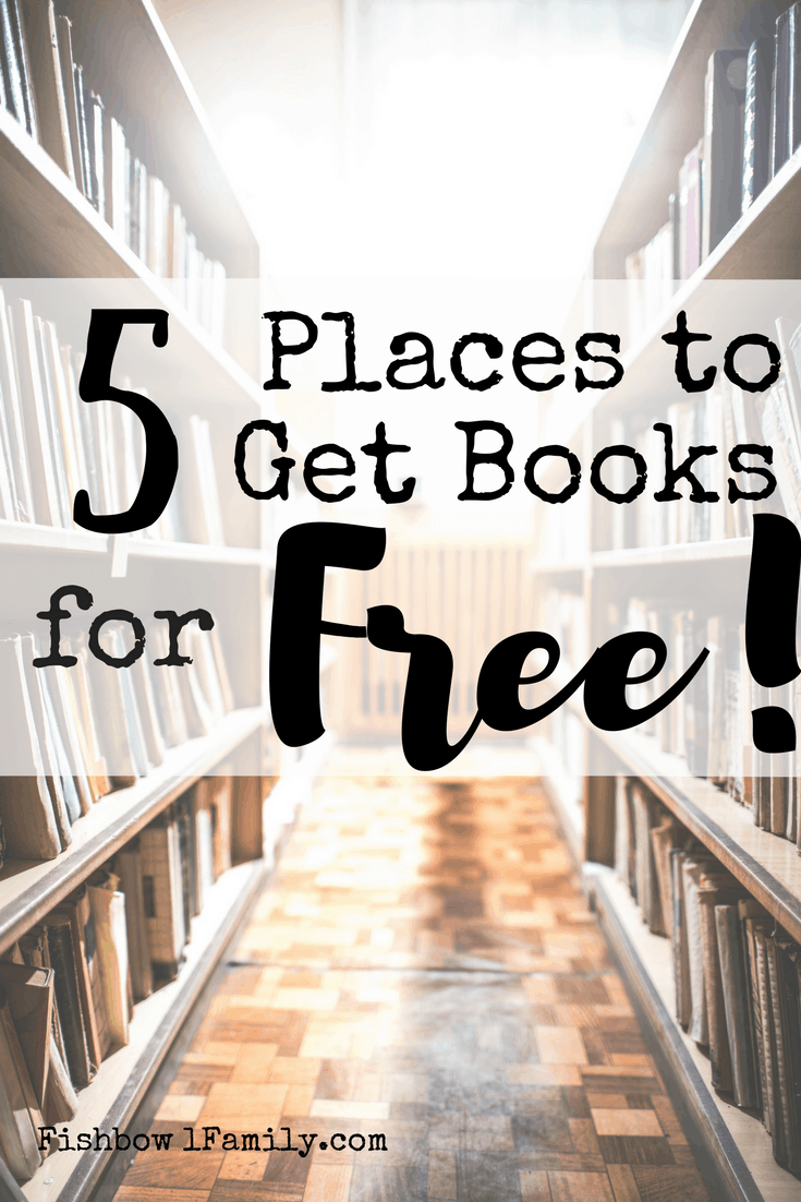 Do you love reading but hate paying for books?  Then, this is the post for you!  We discuss our top five favorite places to get books for free.  Plus a free printable! #freeprintable #freebooks #reading #momswhoread