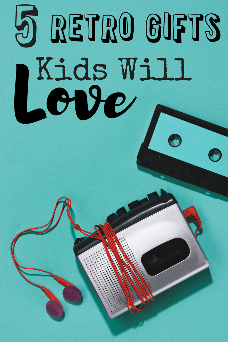 Buying gifts for kids can be tough.  Buying gifts for kids that are already inundated with technology can seem impossible. This list of five retro gifts kids will love will give you five really great gift ideas that most kids don't already have, but they'd totally love.