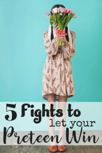 The words 'argumentative' and 'preteen' seem to go together. Here are five fights you should let your argumentative preteen win. You can thank us later.