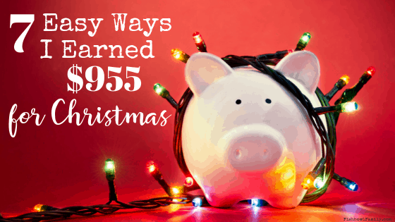 By spending an extra 5 minutes per week, I've been able to easily earn extra Christmas money from home. These seven things are seriously simple. Really.