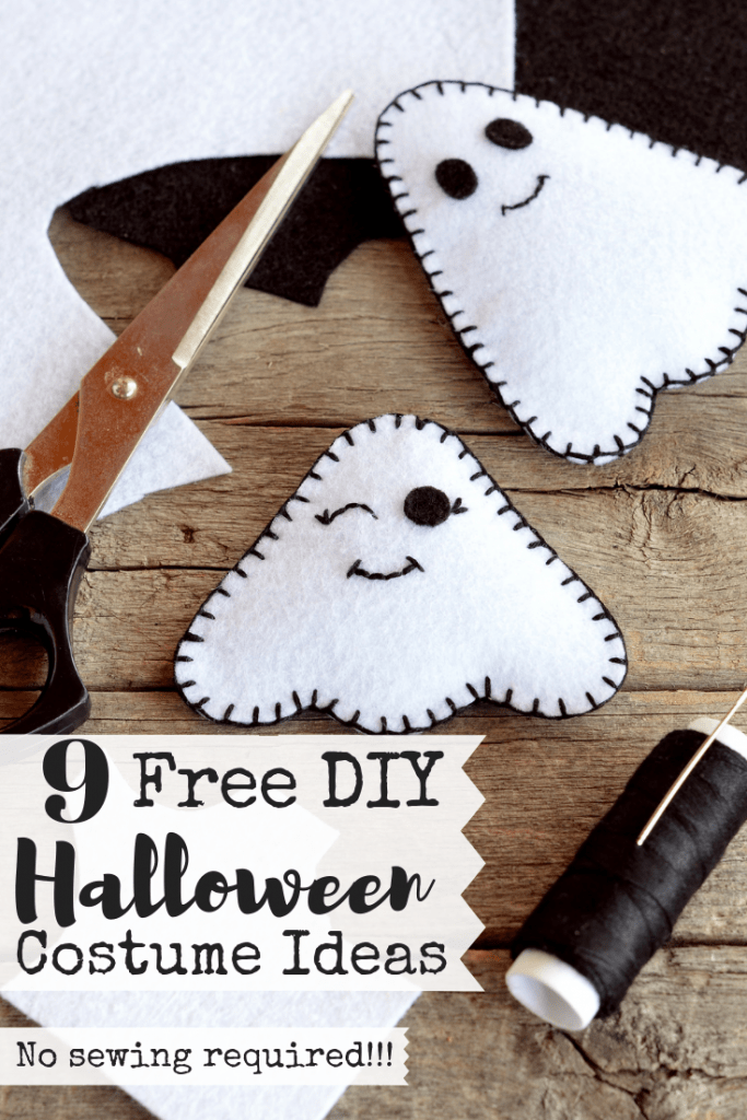 Are you tired of spending so much money every year on Halloween costumes that are only worn once? Then you should check out this list of nine free Halloween costume ideas! Not only are they super easy, they're also super cheap! And with all the money you're going to save, you could treat yourself to a new pair of yoga pants...or three.