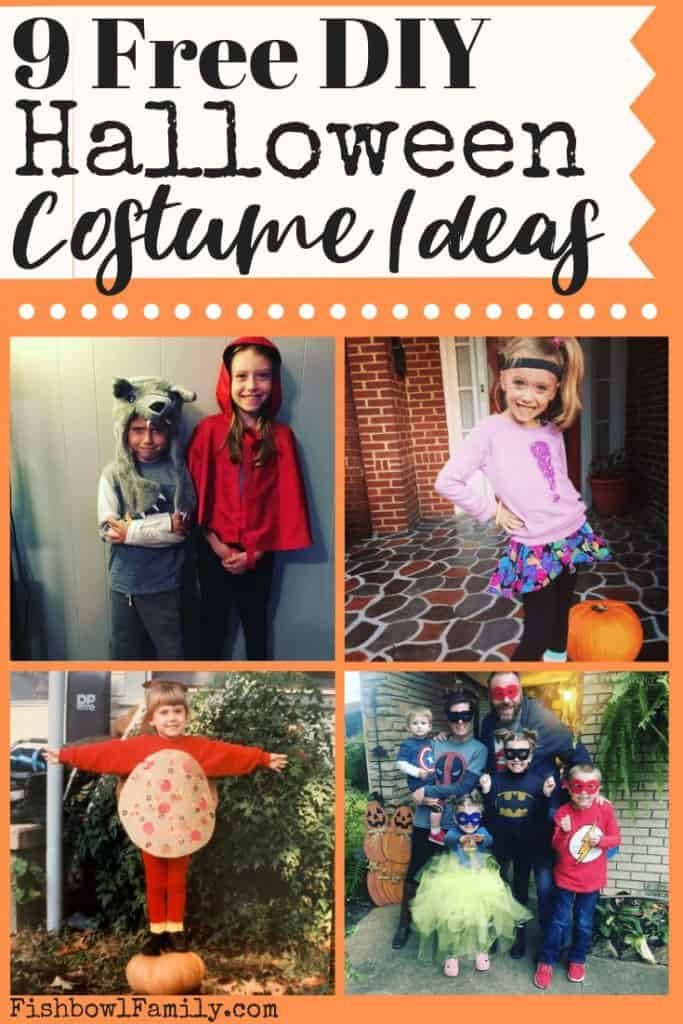 Free DIY Halloween Costume Ideas
