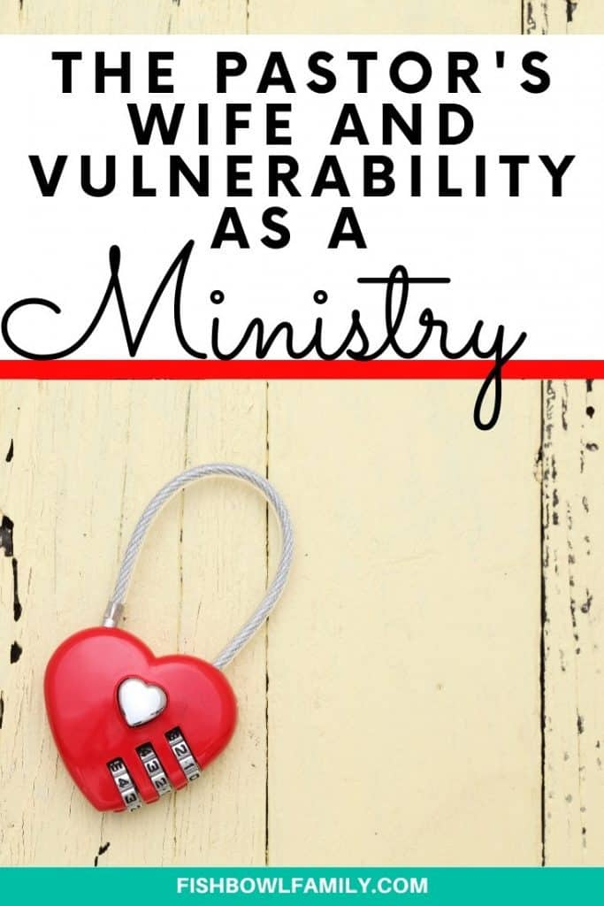 Pastor's Wife and Vulnerability