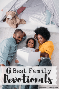Making time to actually do a family devotional can be hard, but finding the right devotional for your family shouldn't be. This list will help you choose the best family devotional for your family. #devotional #bestdevotional #familydevotional #readingthebible #together #raisingarrows
