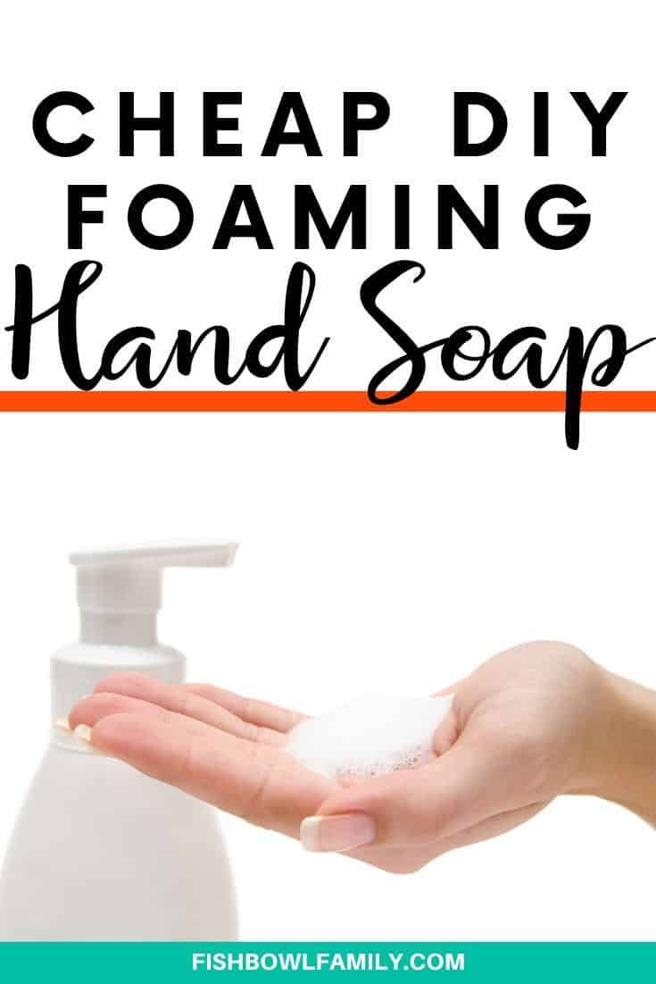 Cheap DIY Foaming Hand Soap