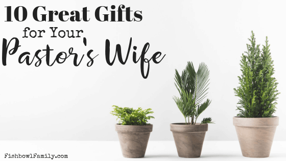 gift ideas for preacher's wife