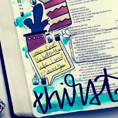 How to Bible Journal When You Aren't Talented or Creative