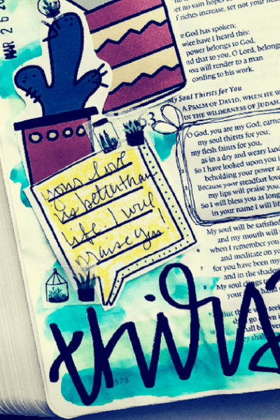 Do you love the idea of Bible journaling but feel like you just couldn't do it? Maybe you've seen Bibles filled with beautiful writing and drawings and you think you don't have the skills to ever try something so bold. In this post, we'll teach you how to Bible journal when you aren't talented or creative without spending a ton of money on supplies!
