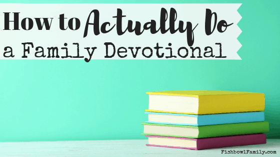 Do you love the idea of doing a devotional with your family, but you aren't sure exactly HOW to do a family devotional? We've got covered. In this post, we share 5 easy ways to start doing a devotional together. With these tips, you'll be studying God's Word together in no time! #familydevotional #howto #devo #together #leadinthewaytheyshouldgo #raisingarrows #biblestudy #family