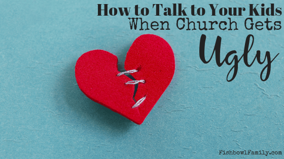 How to have tough conversations with children when they get hurt by people at church
