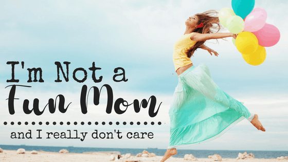 Are you tired of trying to be a fun mom? It can be pretty exhausting to make everything into a game. I quit trying to be a fun mom and now we actually have more fun. I'm not a fun mom, but I am raising awesome kids. #notafunmom #funchores #choresarentfun #chores #fun
