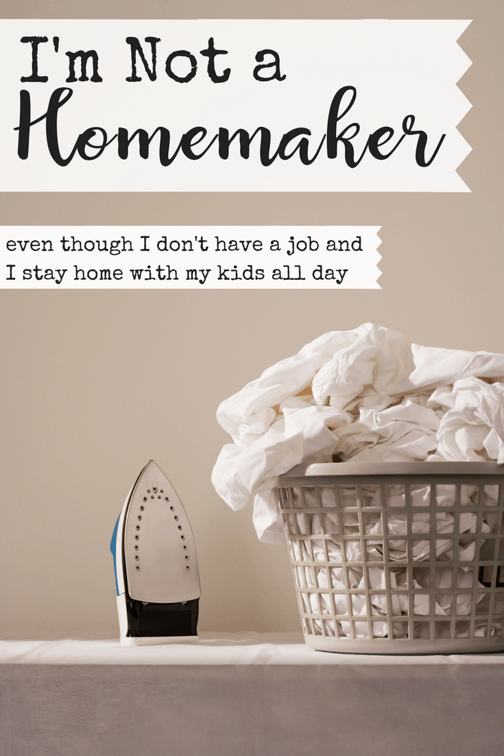 Do you feel like you're totally failing at homemaking? Your house is never clean enough. Your menu is never planned enough. So what if we just quit trying to be homemakers? God has called me to be some really awesome things, but I'm definitely not a homemaker. #homemaking #homemaker