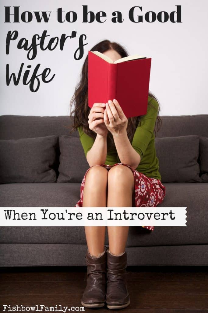 How to be a Good Pastor's Wife When You're an Introvert