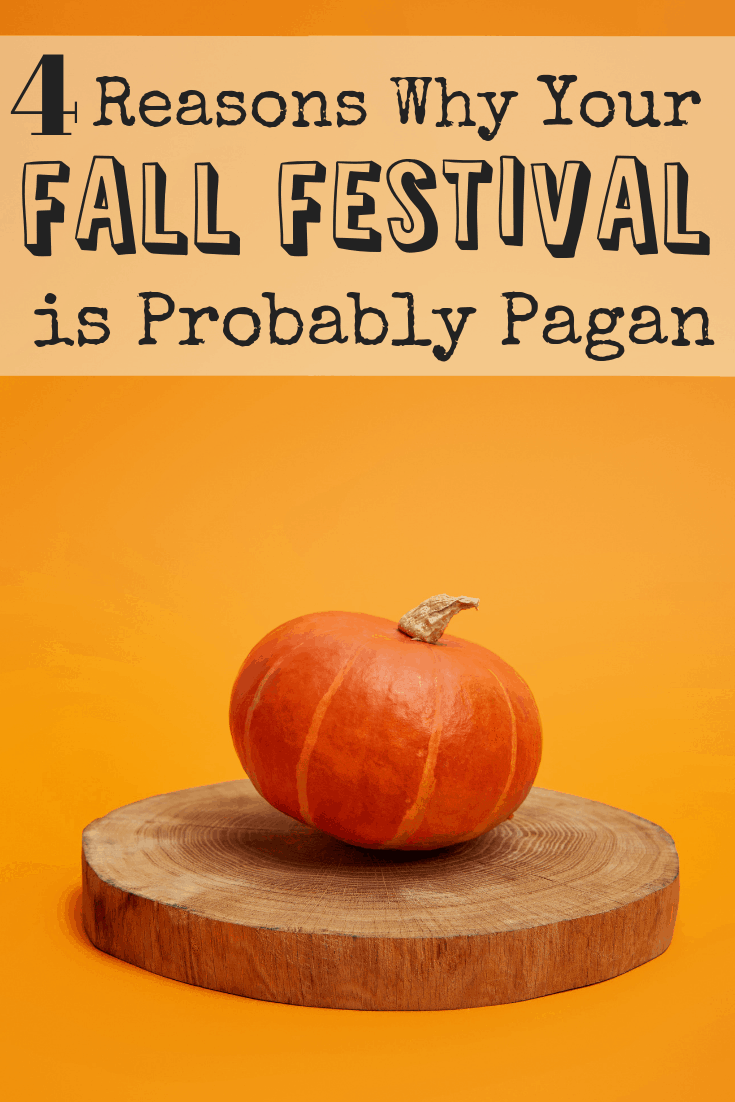 What if instead of condemning Halloween, Christians decided to take Halloween back? Fall festivals are pagan so let's bring back a Christian Halloween and use it to minister to our neighbors.