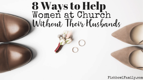 Ways to Help Moms at Church Without Their Husbands