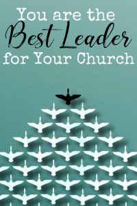 Do you want to help in your church but you feel totally unqualified? Whether you're ready to admit it or not, YOU are the best leader for your church. As a Christian, you've been called to serve, so why not answer the call and begin teaching the good news of Christ resurrected ASAP? Because I promise you're the best leader for your church, even if you don't feel like it.