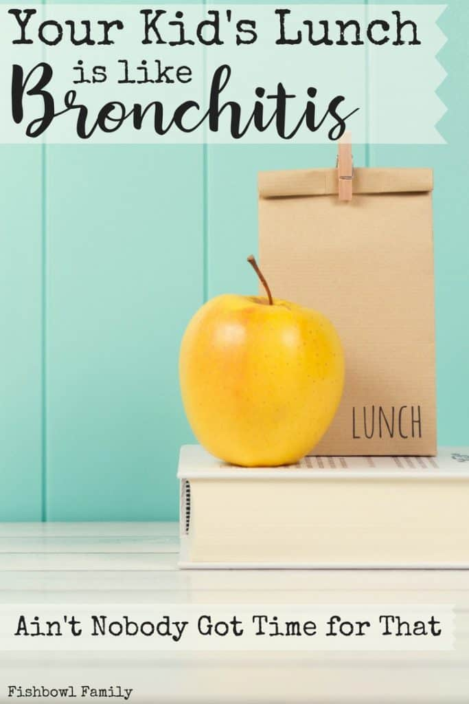 Your Kid's School Lunch is like Bronchitis