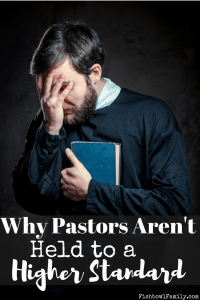 Pastors aren't held to a higher standard