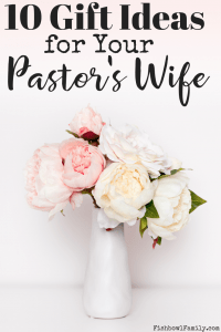 great gifts for pastor's wife