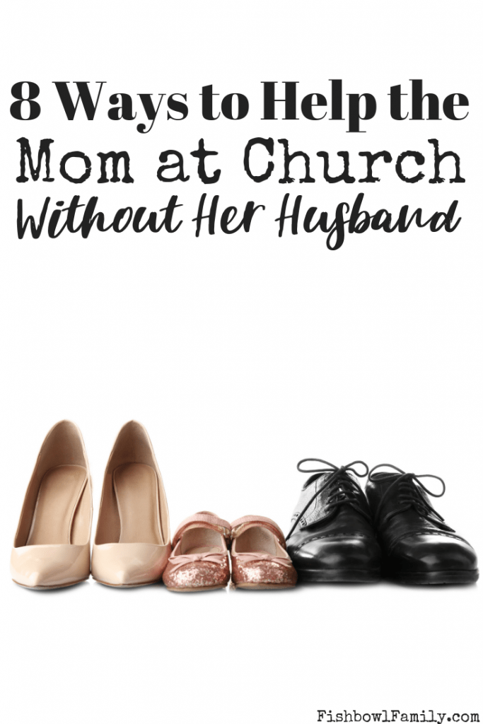 Minister to Women at Church without Their Husbands