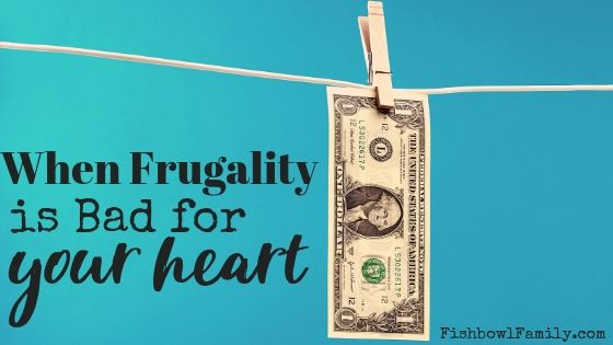 when being frugal is bad for your heart